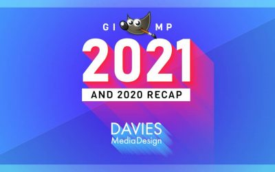 Náhled GIMP 2021 a rekapitulace GIMP 2020