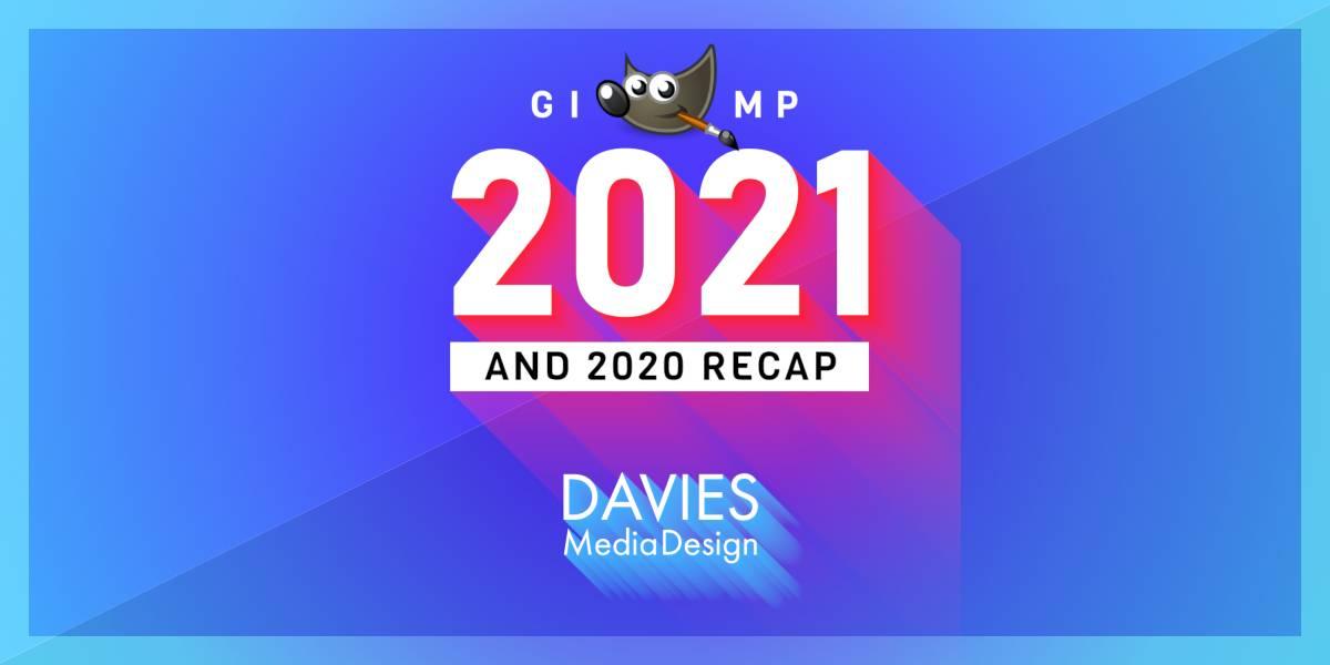 Náhled nápovědy GIMP 2021 a GIMP 2020 Rekapitulace