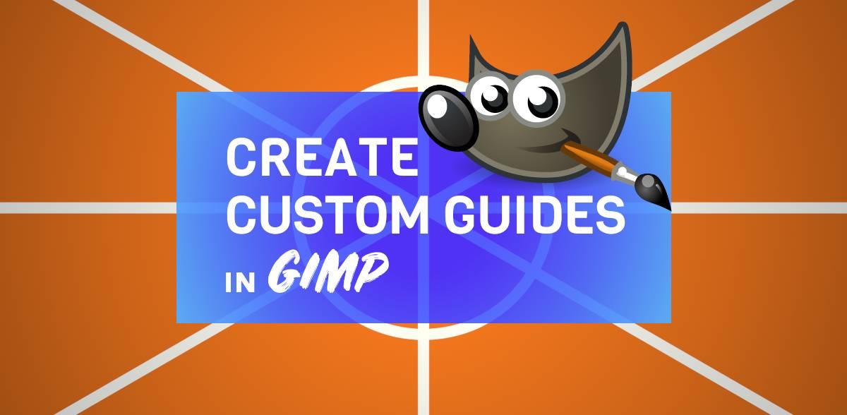 Jak vytvořit vlastní vodítka v článku nápovědy GIMP