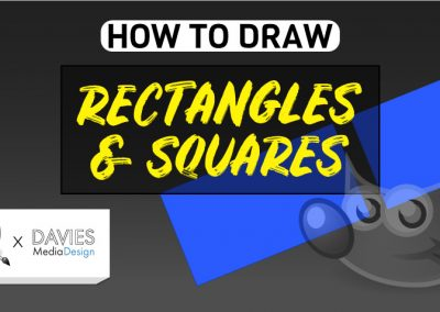 How to Draw a Rectangle and Square in GIMP